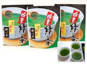 【新茶】深蒸し粉末緑茶 発送予定日:5/23頃(40g)<br>864円