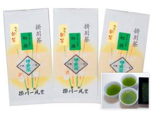 【新茶】特上煎茶 初摘 発送予定日:5/4頃(100g)<br>1,620円