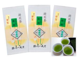 【新茶】特上煎茶 新緑 発送予定日:5/6頃(100g)<br>1,296円