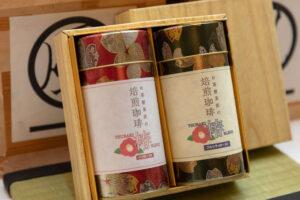 茶匠の珈琲TSUBAKI 缶入りギフトセット <br>4,000円